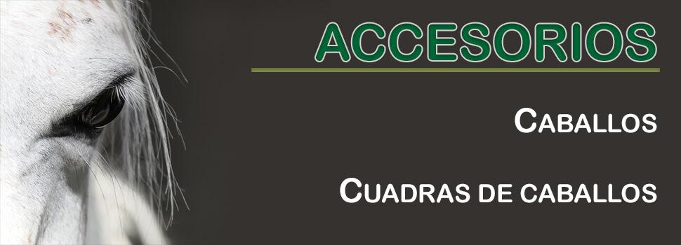 Accesorios para caballos y cuadras de caballos