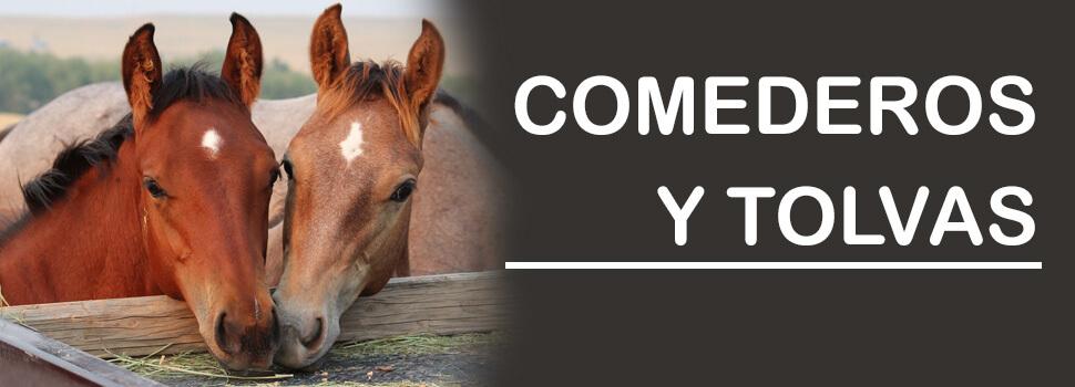 Comederos para caballos y tolvas automaticas para caballos